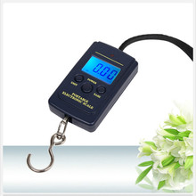 Hot Multifunctional Portable Mini 40kg/10g Electronic Hanging Fishing Luggage Balanca Digital Handy Pocket Weight Hook Scale