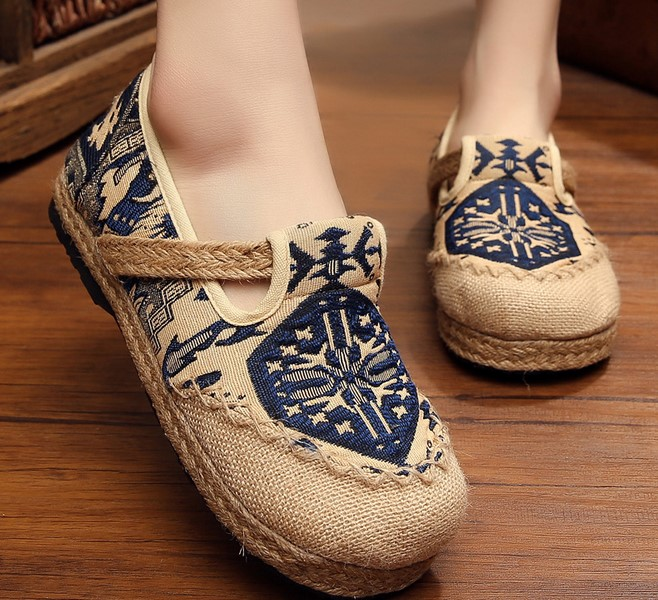 2017 women flat comfortable breathable fisherman sandals Hemp summer handmade woman shoes chaussure femme<br><br>Aliexpress