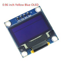 Free Shipping 0.96 inch 128X64 OLED Display Module For arduino 0.96 IIC SPI Communicate yellow blue