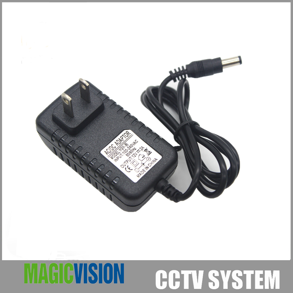 Universal AC 100-240V US EU UK Plug For DC 12V 2A 24W Power Supply Adapter Charger For LED Strips CCTV Security Camera<br><br>Aliexpress