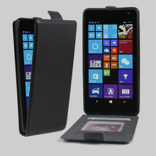 "Hot Selling Wallet Style PU Leather Flip Cover Case For Nokia Microsoft Lumia 535 5.0""Cell Phone Bag With Card Holder 7 Colors"