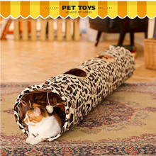 New 2016 High Quality Nylon Cats Tunnel Toys Home Folding Training Tunnel Cats Toys Brand Design jouet pour chat ACTIONCLUB(China)