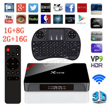 Xnano X96 Pro Android TV Box Amlogic S905X Quad Core Set Top 1G+8G 2G+16G 6.0 OS 4K 3D Smart Media player - E Innovative Store store