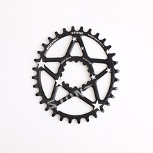 Bicycle SRAM BB30 Direct Mount Oval Chainring Narrow Wide Chain Wheel(China)