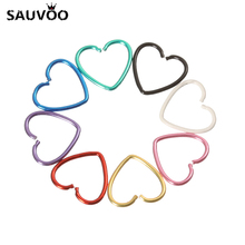 40pcs/pack Heart Star Shape 316L Stainless Steel Earrings Nose Lip Tragus Piercing Labret Hoop Rings Body Pircings Nariz Jewelry(China)