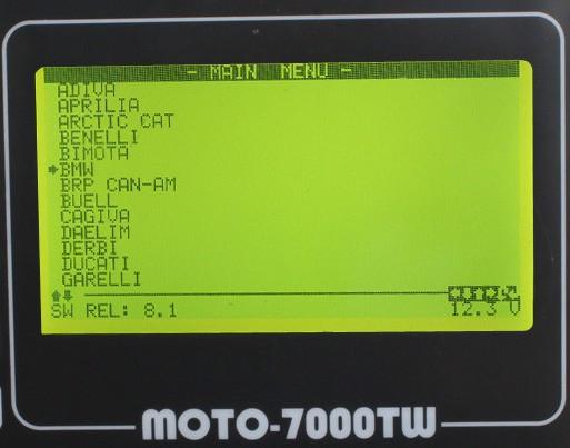 MOTO 7000TW Universal Motorcycle Scan Tool n