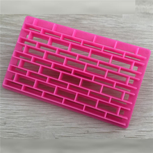 DIY Cake Chocolate Mold Strip Impression Grid Shape Printing Biscuits Cookies Cutter Embosser Fondant Gum Paste Decoration Tools(China)