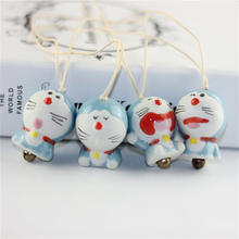 more la a dream doraemon ceramic bag pendant key partner bags hang act the role of creative gift MA3073
