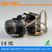 Starlight Sony IMX185 IP Camera Module Starvis Board 2MP 1080P 3.6-10mm Motorized Zoom Lens Auto Focus Auto IRIS With Cable UG