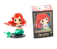 Home Decoration 16CM Little Mermaid Ariel Princess Doll Girls Mermaid Dolls For Kids Figures Toys Children Gifts bonecos joue