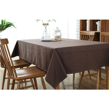 cotton linen table cloth coffee tea table cloth waterproof colors korea japan europe american modern style deal free shipment