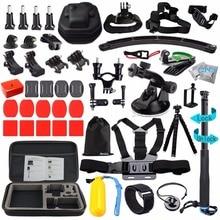 Husiway Accessories kit Gopro Hero 5 Session, Gopro Hero 6 Black, Xiaomi Yi 4K Sony Eken Action Camera 13L