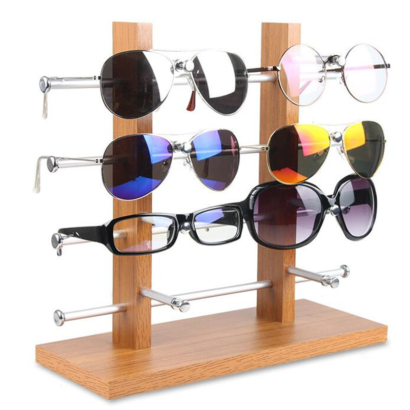 LAN LIN Sun Glasses Eyeglasses Plastic Frame Display Stands Shelf Eyewear Counter Show Stand Holder Rack three sizes can choose(China (Mainland))