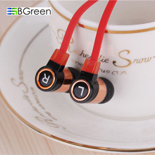 BGreen Stereo In-Ear Earphone for Cell Phone MP3 MP4 Player Earphone For iPhone iPod Samsung PC