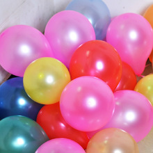 20pcs/bag 7 inch latex balloon summer party carnival decoration layout supplies wedding children party toys