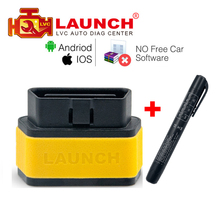 Launch X431 EasyDiag OBD2 Diagnostic Tool Easy diag 2.0 Android/iOS Update Online better than ELM327 with Brake Fluid Tester