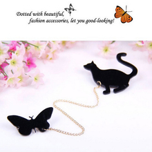 New Fashionable 1 PCS Creative Brooch Fruit Squirrel Birds Butterflies Cat Brooches Pins For Women(China)