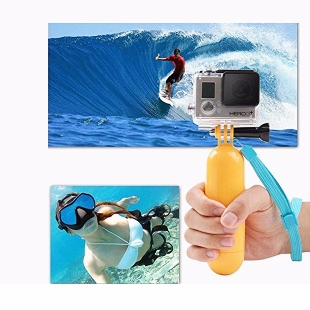 DSD TECH Sports action camera Accessories kit with Carrying Case for Gopro HERO 6 5 4 3 SJ4000 session xiaomi sj4000 sj5000x 12G
