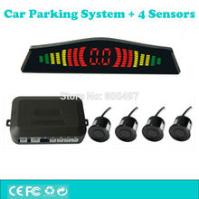Car Parking Assistance System Backup Reverse Radar System with 4 Parking Sensors Colorful Display(China)