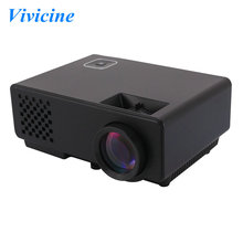 Newest RD810 Portable HD Mini LED HDMI USB Home Video Projector,Perfect for Watching Football Games