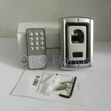 Free Shipping Waterproof Metal Fingerprint Access Control/Fingerprint Scanner Door Locks For Access Control System(China)