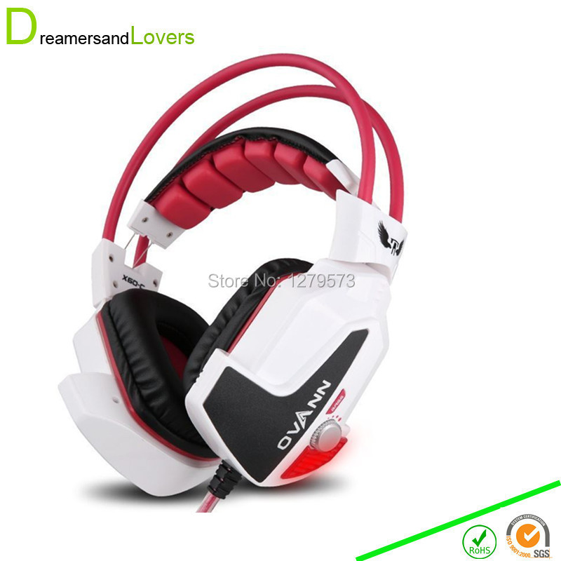 Gaming Headphone Stereo Computer Headset with Mic + Dual 3.5mm Jack + Volume Control + 3D Led Super Heavy Bass for PC Laptop<br><br>Aliexpress