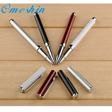 2 in 1 Touch Screen Stylus Ballpoint Pen For IPad For IPhone For IPod Tablet Nov23