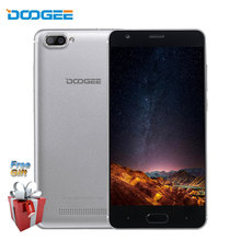 DOOGEE X20 Smartphone 5.0 Inch 2GB RAM 16GB ROM Android 7.0 Quad Core Dual SIM Back Cameras With GPS WiFi 3G Unlocked Cell Phone(China)