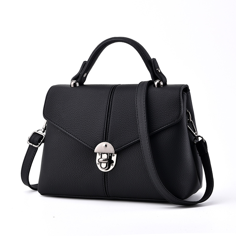 2017 New 12-color High-quality PU Leather Bag Wild Small Package Fashion Trend Ladies Handbag Simple Shoulder Bag Messenger Bag<br>