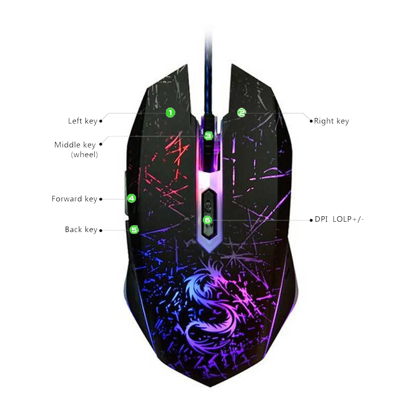 usb gaming mouse gamer (2) -