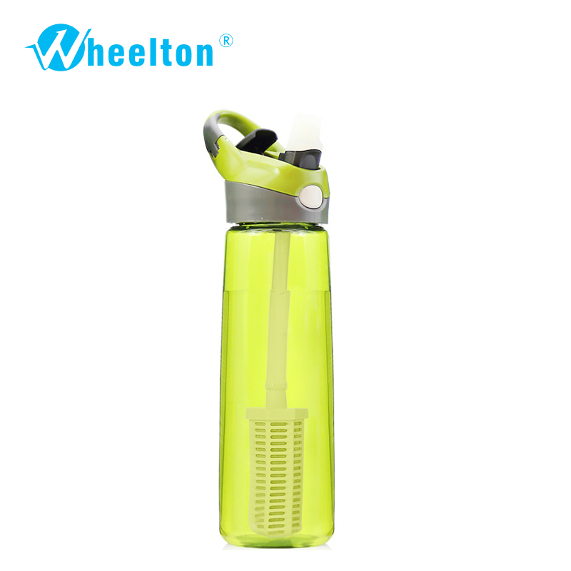 2017 Portable Water Filtration Bottle for outdoor water purifer offer Anion alkaline water rich  oxygen freeshipping<br>