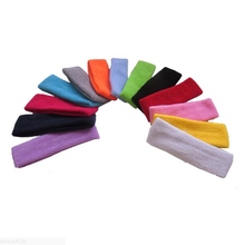 50 pieces Sports Headband Tennis Badminton Basketball Fitness Sweatband Head Sweat Band running Headband