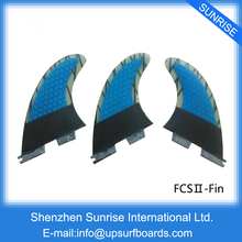 FCS2 Fin G5 Surfboard Fin Quilhas fcs ii Carbon Blue Fin, Orange carbon Surf Fin New Design For Sale