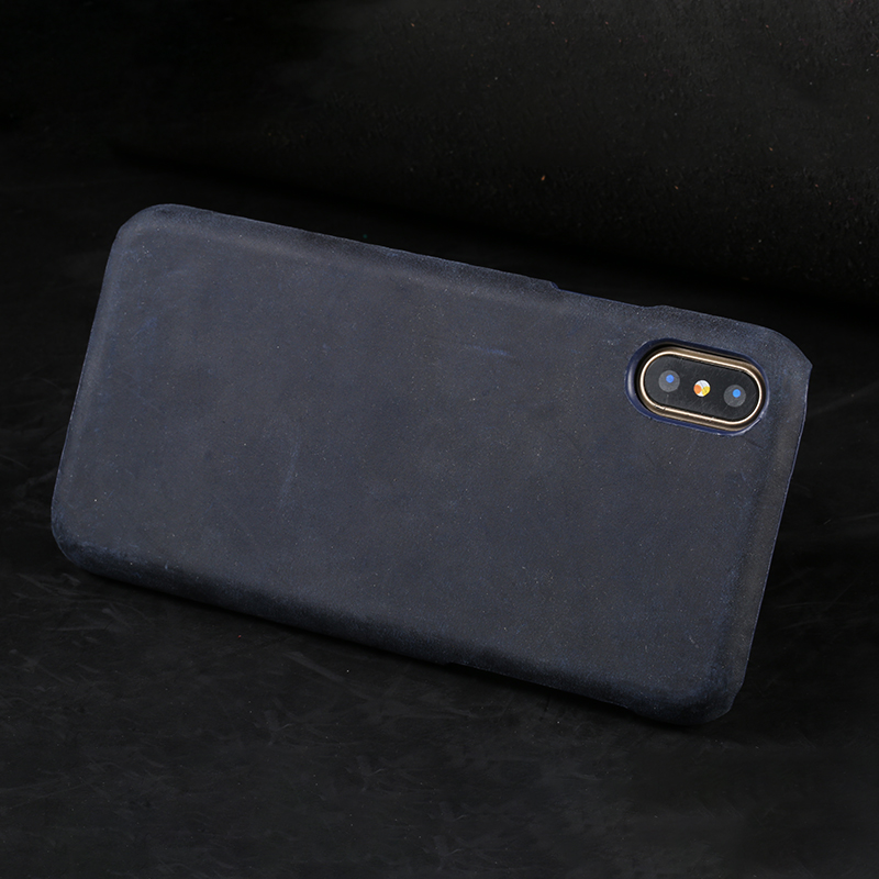 Genuine Cow Leather Ultra Slim Phone Case For Iphone X Case Retro Back Cover For Iphone Se 5 5S 6 6S 7 8 Plus X Phone Shell