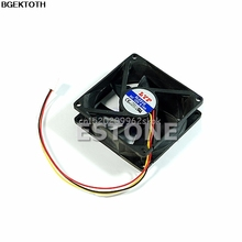 CPU PC Fan Cooler Heatsink Exhaust 80mm x 25mm 3 pin #H029#