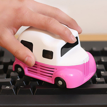 Buy New Fashion Mini Car molding Vacuum Cleaner Dust Collector Computer PC Desktop Keyboard Cleaning Brush for $5.40 in AliExpress store
