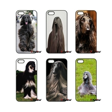 Funny Afghan Hound Dog For iPod Touch iPhone 4 4S 5 5S 5C SE 6 6S 7 Plus Samung Galaxy A3 A5 J3 J5 J7 2016 2017 Phone Case(China)