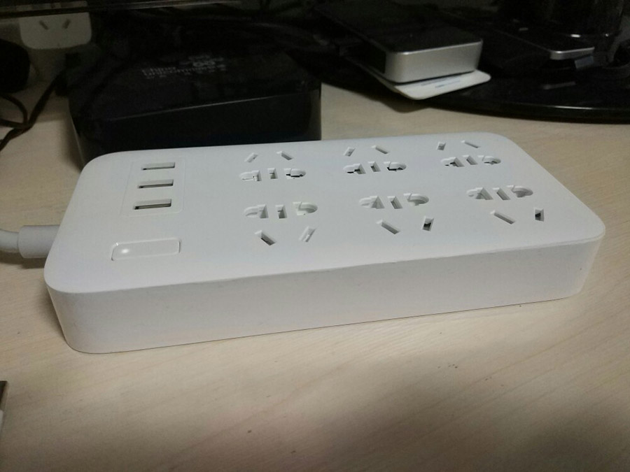 Original Xiaomi Smart Power Strip 2.1A Fast Charging 3 USB Extension Socket Plug 6 Standard Socket Adapter (24)