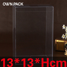 10 pcs/lot 13*13*Hcm packaging boxes / plastic container / retail / chocolate box / candy box / gift package / PVC boxes