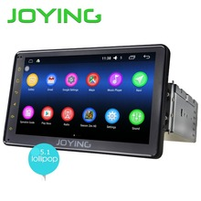 "JOYING 2GB+32GB Android 5.1 Universal Single 1 DIN 7"" Car Radio Stereo Quad Core Head Unit Support PIP Steering Wheel Camera"