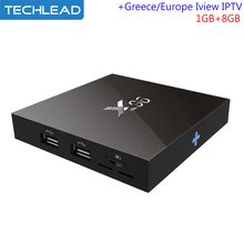 X96 Android TV Box S905X Quad Core With Albania Greek Italian Arabic Sports TV Channels Iview HD European IPTV Package German TV(China)