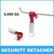 Portable EAS Tag Remover Mini Magnet Bullet Detacher Security Tag Remover Detacher Hook key Lockpick Supermarket Antitheft
