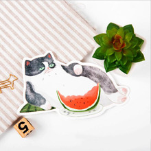 30pcs/lot New cat design postcards Nice Stationry Greeting Cards Calendars Planner & Cards HG046(China)