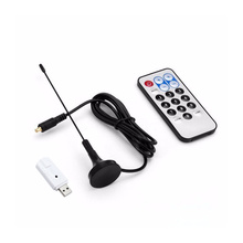 RTL-SDR usb tuner receiver DVB-T FM+DAB TL2832U + R820T Mini Digital TV Stick dongle with dvb t dvbt antenna Satellite HDTV