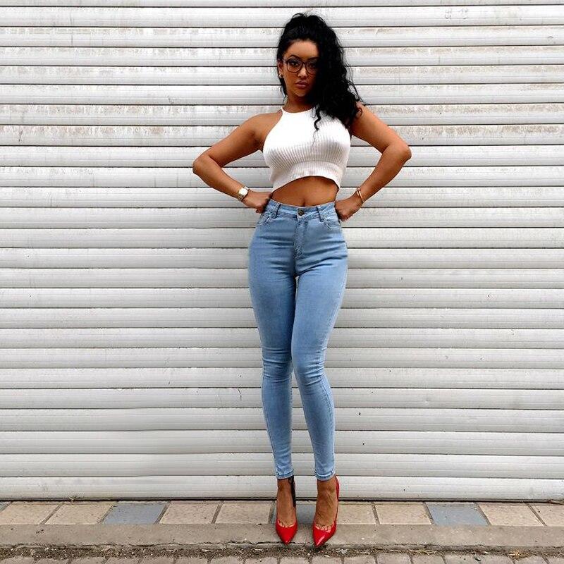Popular Skinny Blue Jeans Women-Buy Cheap Skinny Blue Jeans Women ...