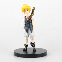 New anime figure toy The Seven Deadly Sins nanatsu no taizai Dragon's Sin of Wrath Meliodas 14CM gift for children free shipping(China)