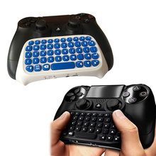 Wireless Chatpad for PlayStation 4 PS4 Joystick Gamepad Message Keyboard for SONY PlayStation 4/Slim/Pro Gaming Controller