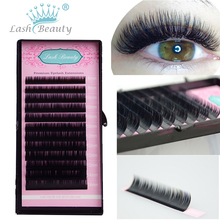 All Sizes False Eyelash Extensions Mink Black Material JBCD Curls 1 Tray/Lot(China)