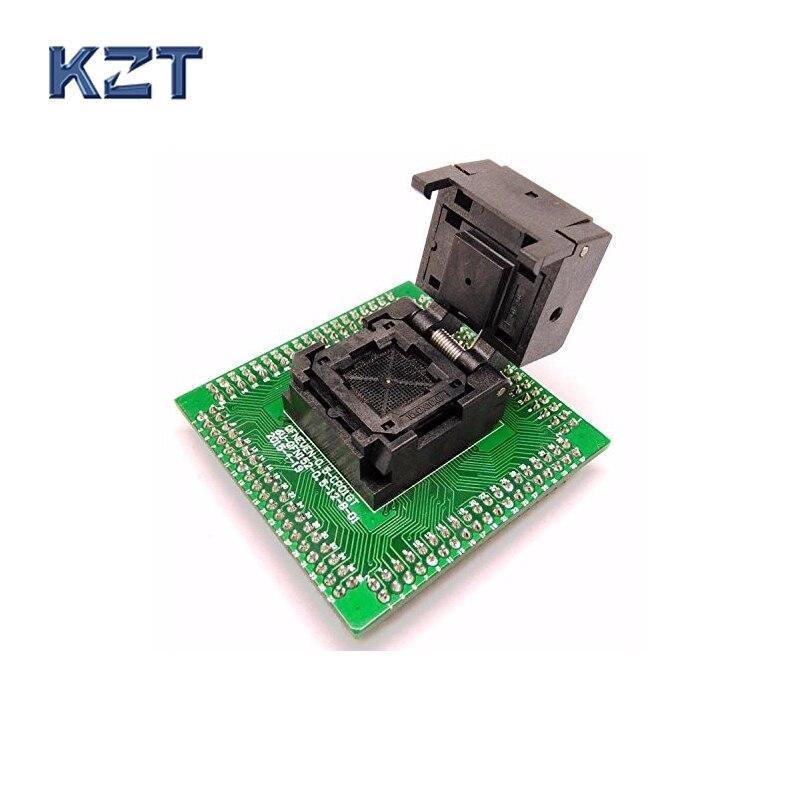 QFN16 MLF16 Burn in Socket IC Test Socket IC550-0164-005-G Pitch 0.5mm Chip Size 3*3 Flash Adapter Clamshell Programming Socket<br>
