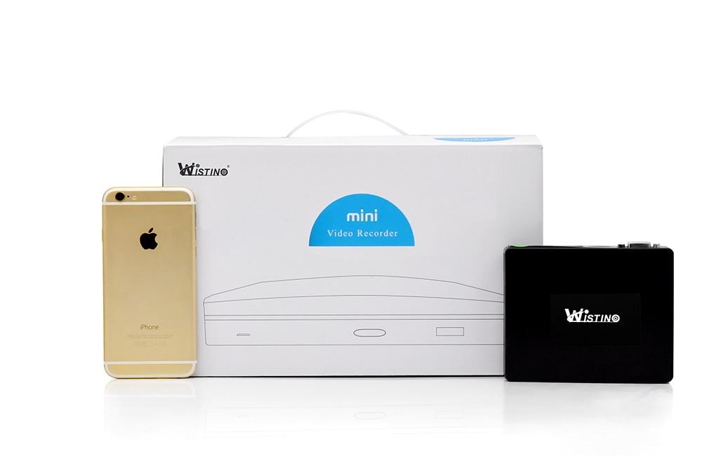 Wistino 1080P Mini AHD Camera Kits 4CH Digital Video Recorder DVR Kit CCTV Security Analog Camera Outdoor IR Video Surveillance (19)